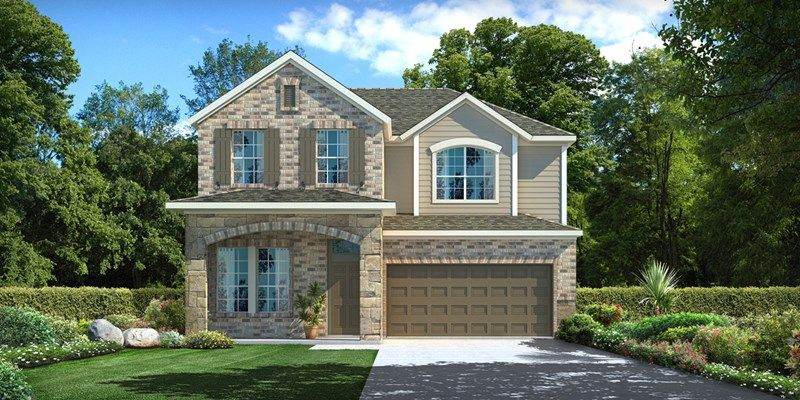 Single Family for Sale at Enclave At Castlebridge - Stonington 106 Saddle Drive Jersey Village, Texas 77065 United States