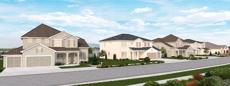 单亲家庭 为 销售 在 Showboat 16412 Good Hearth Boulevard Clermont, Florida 34711 United States