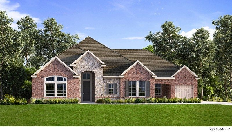 Single Family for Sale at Triana - Estates Series - Chartress 10522 Newcroft Place Helotes, Texas 78023 United States