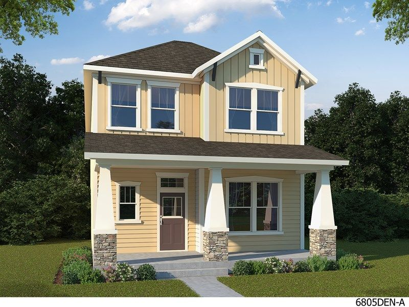 Single Family for Active at Stapleton - North End - Cottage Homes - Mount Powell 6004 Alton Street Denver, Colorado 80238 United States