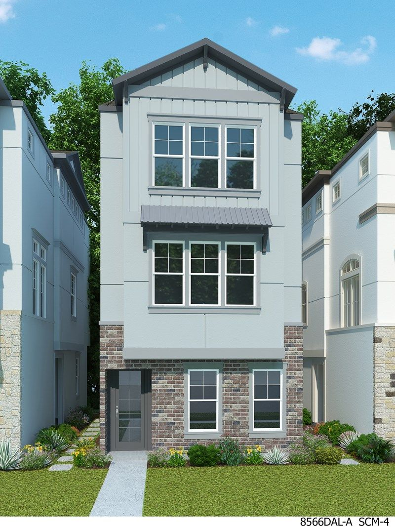 David weekley homes oak park villas tamboril 1226689 for Modern houses for sale in dallas