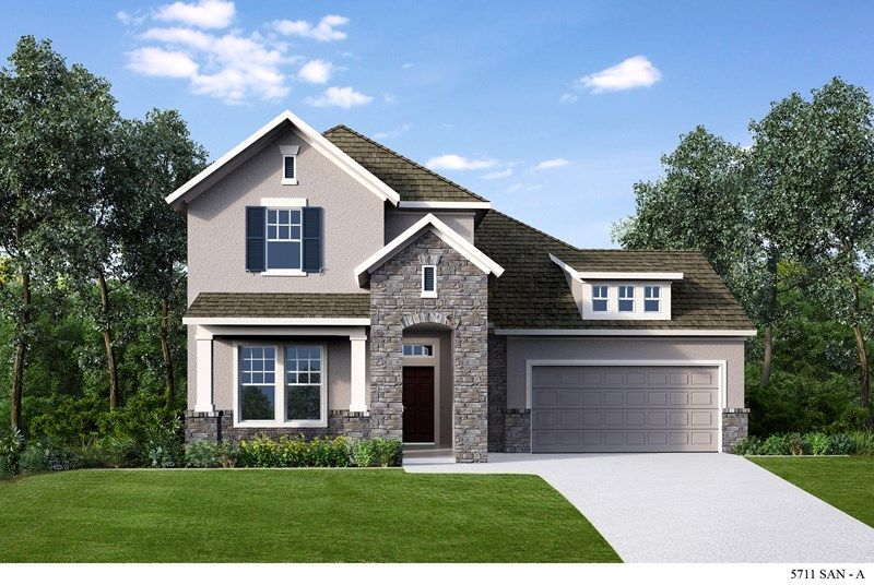 Single Family for Sale at Kinder Ranch 55' - Knightley 28823 Gracies Sky San Antonio, Texas 78260 United States