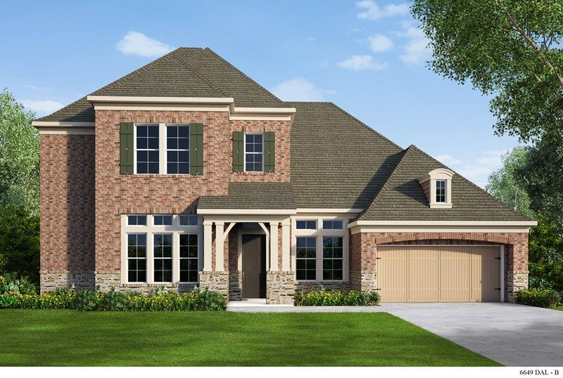 David weekley homes fairway ranch ridgehill 1252495 for Home builders roanoke va