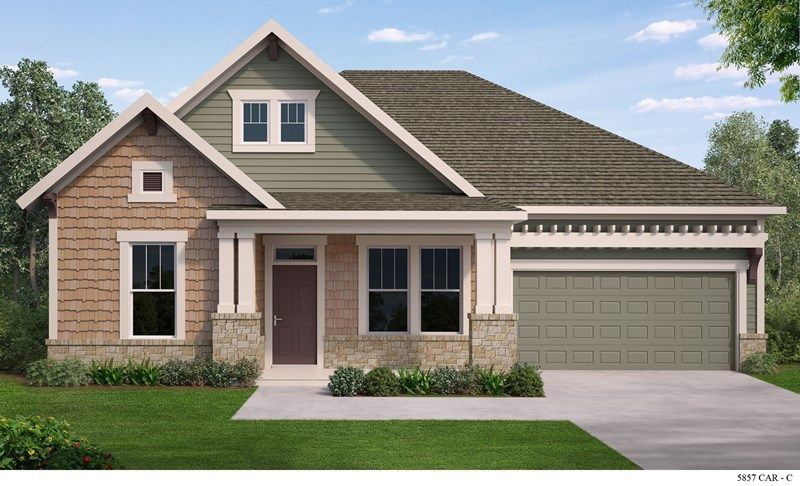 David weekley homes massey executive collection 60 for Fort mill sc home builders