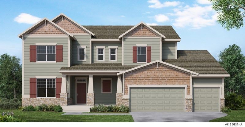 Single Family for Sale at Harmony At Inspiration - Reinhardt 23451 East Rockinghorse Parkway Aurora, Colorado 80016 United States