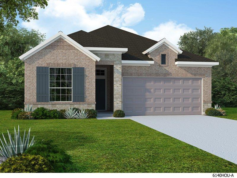 Single Family for Sale at Enclave At Castlebridge - Elson 113 Saddle Drive Jersey Village, Texas 77065 United States