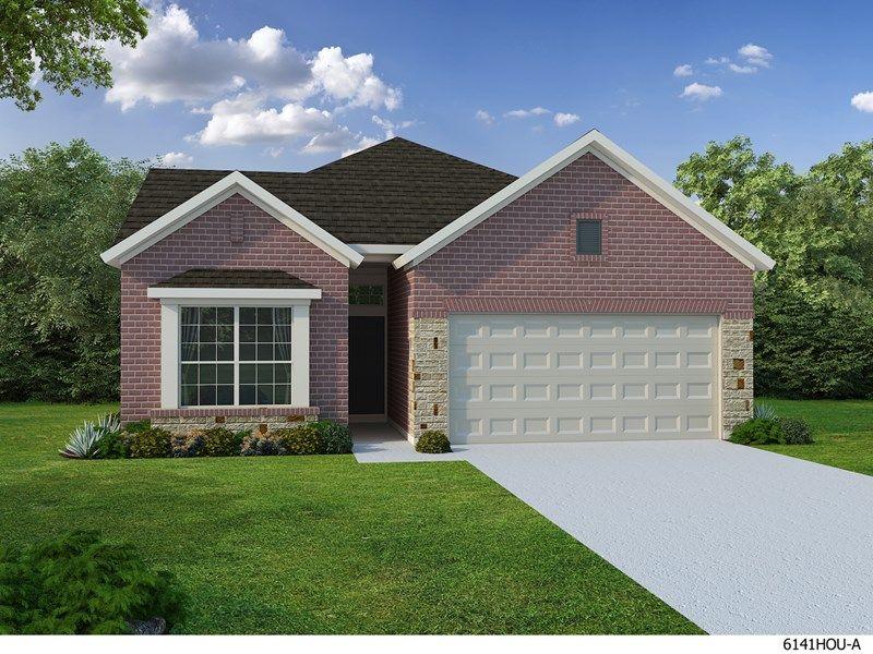 Single Family for Sale at Enclave At Castlebridge - Carolcrest 113 Saddle Drive Jersey Village, Texas 77065 United States