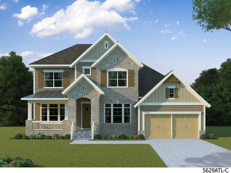 Single Family for Sale at Vinings Brooke - Harlingen 5416 Bluestone Circle Mableton, Georgia 30126 United States
