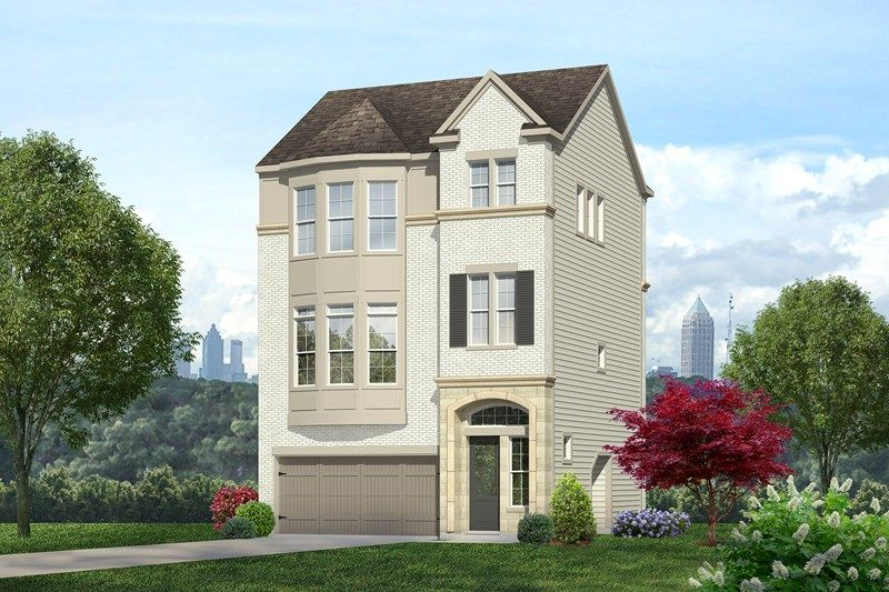 david weekley homes broadview place manor carlene 1324400 atlanta ga new home for sale