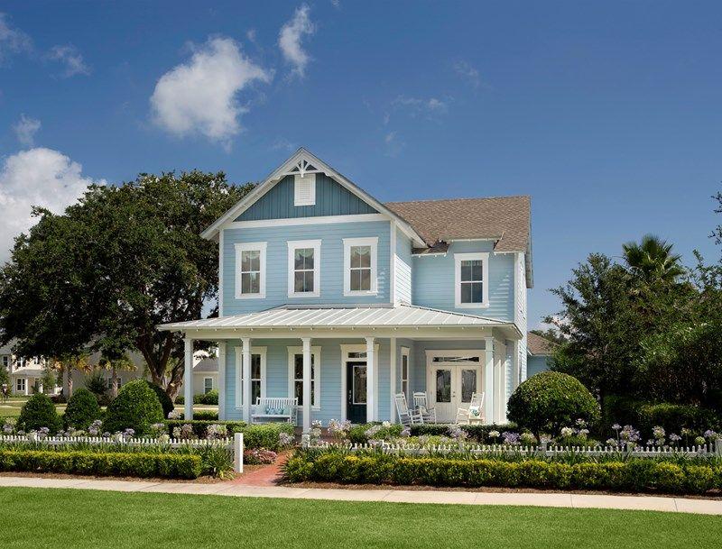 Oakland Park Village Homes New Homes In Winter Garden FL By David Classy New Homes In Winter Garden Fl