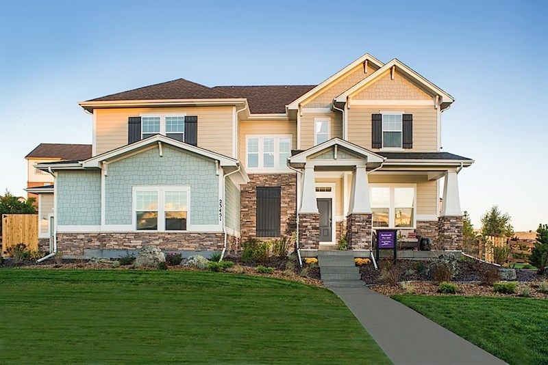 Single Family for Sale at Rouseau 8664 S. Zante Court Aurora, Colorado 80016 United States