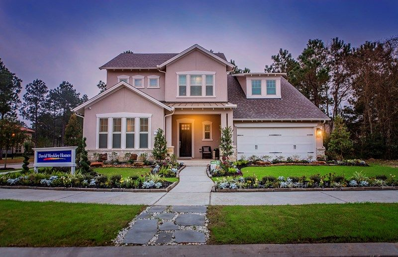 The Woodlands Liberty Branch 60 65 Traditional By David Weekley Homes