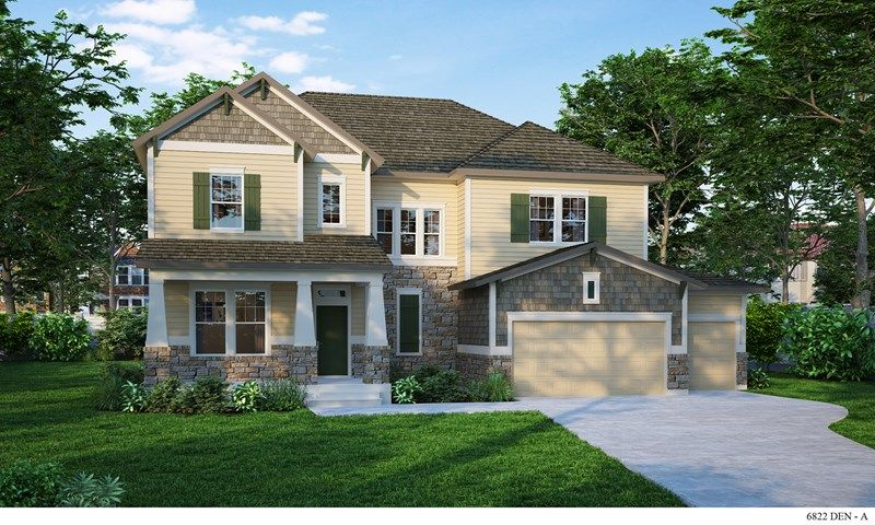 Single Family for Sale at Harmony At Inspiration - Brooksdale 23451 East Rockinghorse Parkway Aurora, Colorado 80016 United States