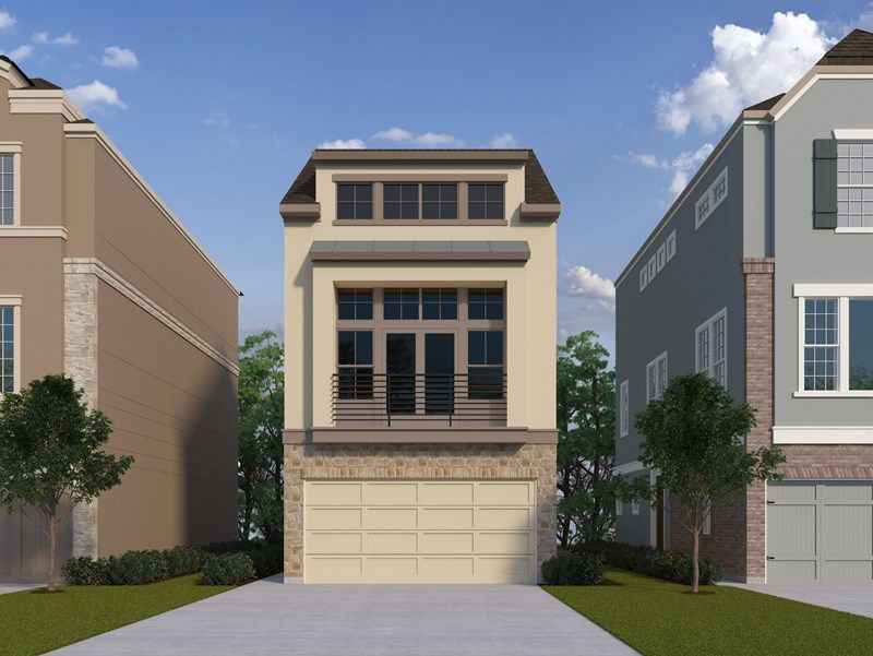 Single Family for Sale at Reserve At Washington - Gamay Call For Appointment Houston, Texas 77008 United States