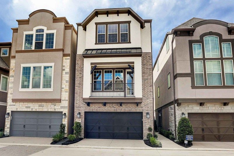Single Family for Sale at Royal Oaks Square - City Homes - Hollowmill 11938 Stirling Row Lane Houston, Texas 77082 United States