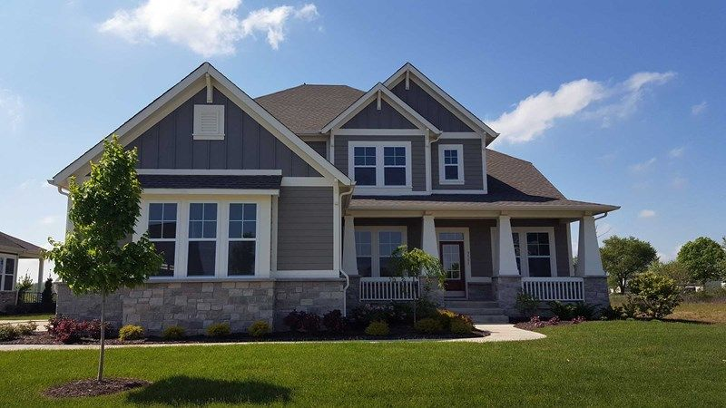 Single Family for Active at Bluffdale 16281 Portage Trail Lane Fortville, Indiana 46040 United States