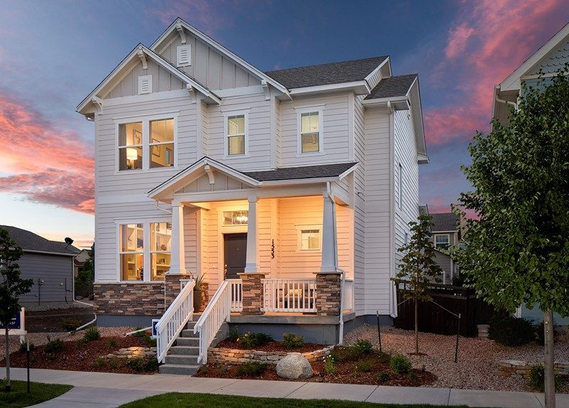 Single Family for Active at Goldenrod 1341 Solitaire Street Colorado Springs, Colorado 80905 United States