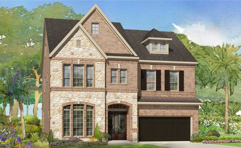 Single Family for Sale at Village At Spring Branch - Estate Homes - Kingsfield 8311 Barberry Branch St Houston, Texas 77055 United States