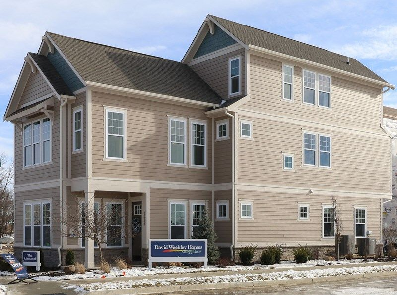 The villas at saxony new homes in fishers in by david for Saxony homes