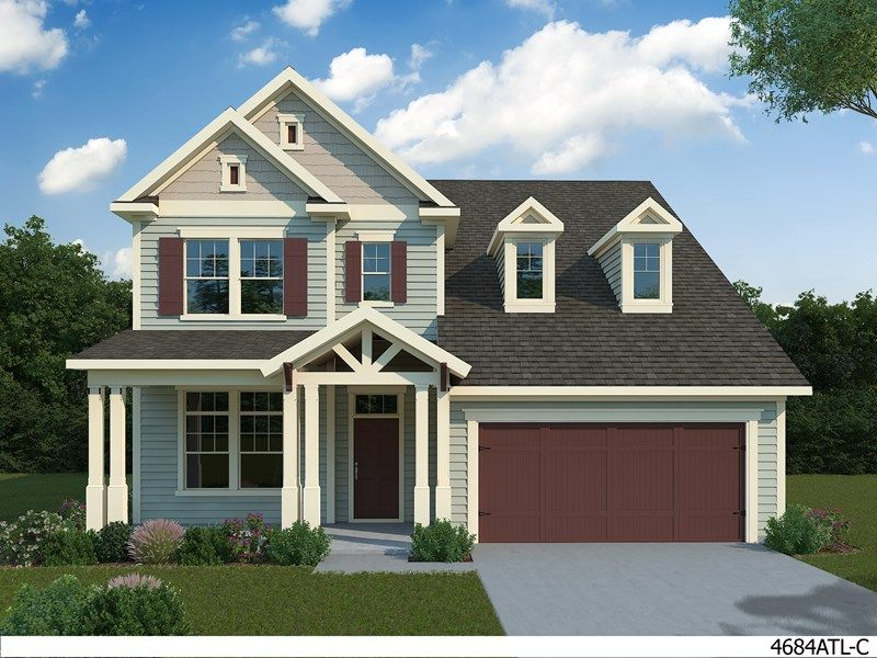 Single Family for Active at Stonebridge 320 Conner Circle Smyrna, Georgia 30082 United States