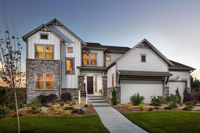Single Family for Active at Candelas Mountain View - Wrenwood 18188 W. 95th Ave. Arvada, Colorado 80007 United States