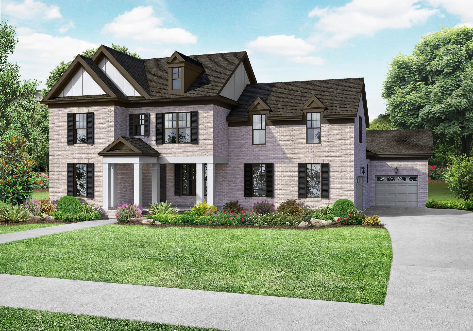 Single Family for Active at The Hathaway B 5612 Bridgemore Boulevard Murfreesboro, Tennessee 37129 United States