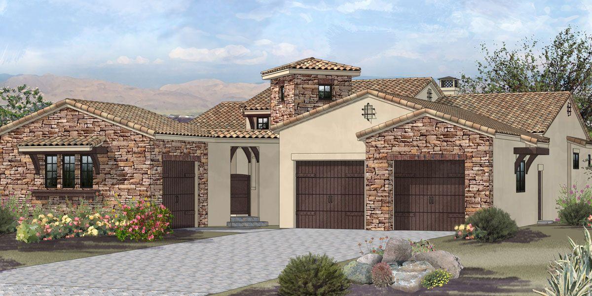 Unifamiliar por un Venta en Villagio - Plan 4 3184 Vista Favoloso Reno, Nevada 89519 United States