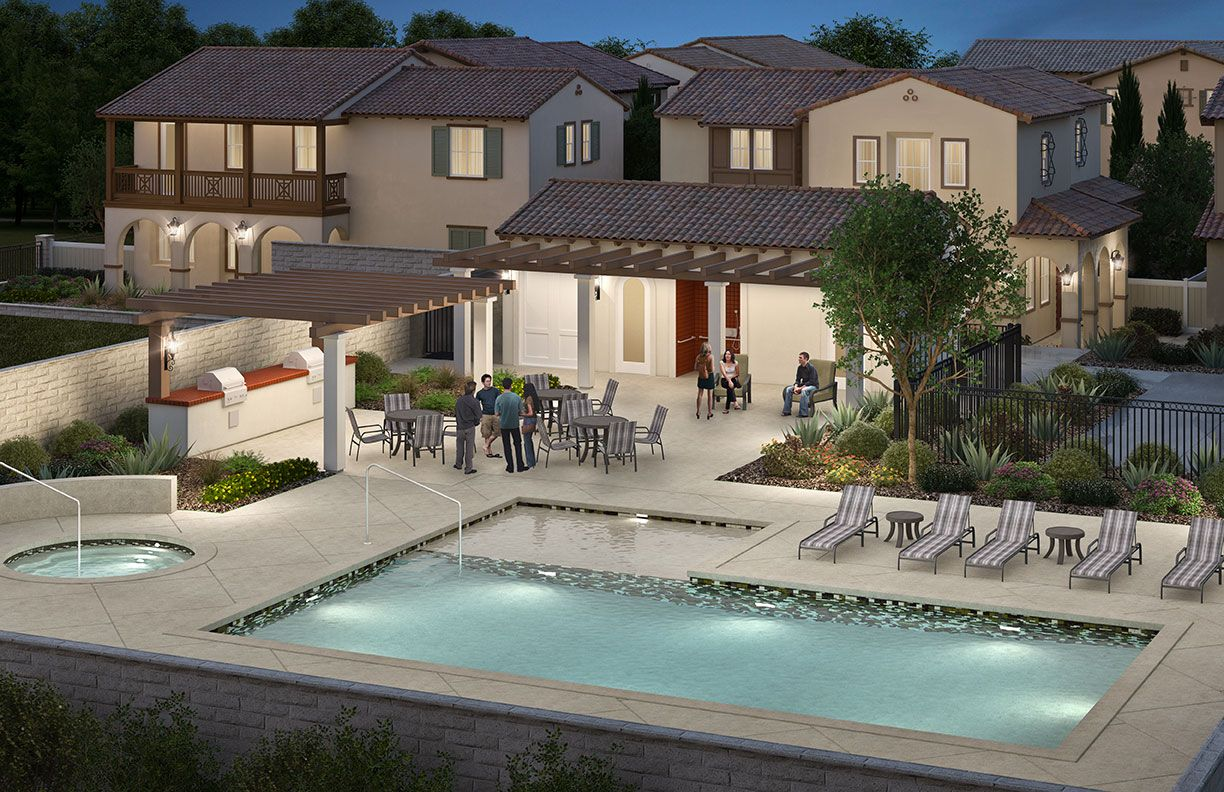 Single Family for Active at Plan Five 1647 Palmer Court Upland, California 91784 United States