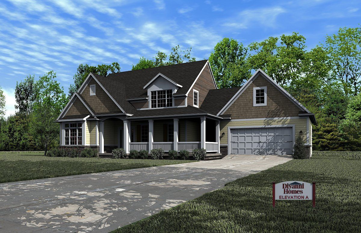 Single Family for Sale at Dayton- On Your Lot - The Chateau 70 Birch Alley Ste. 240 Beavercreek, Ohio 45440 United States