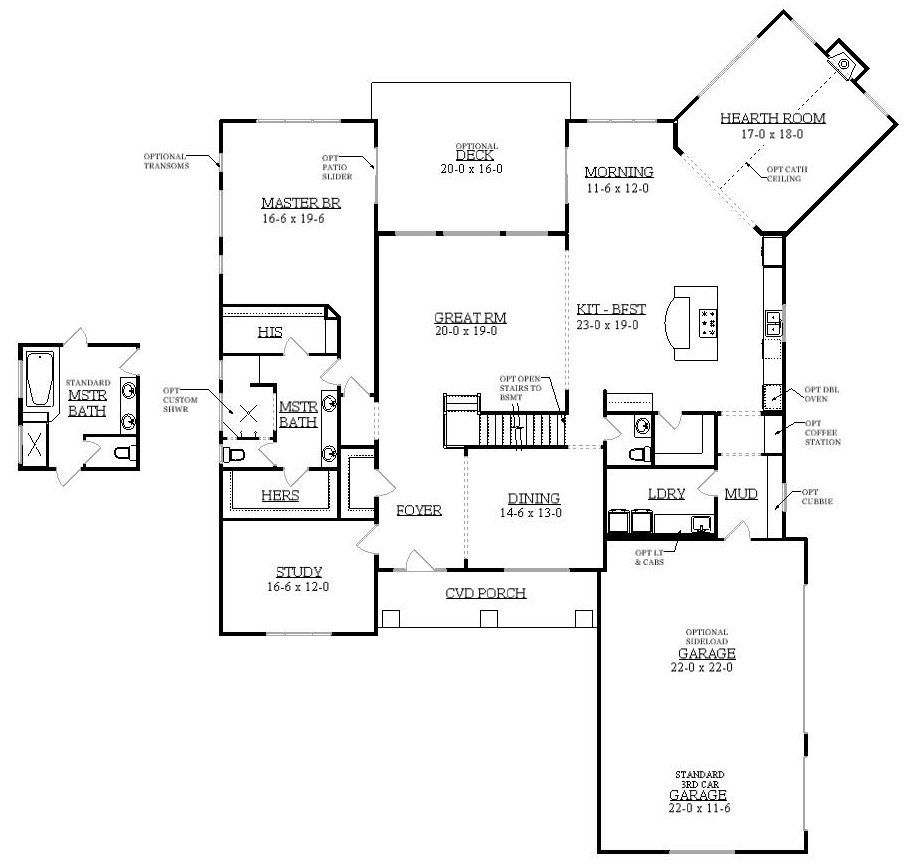 Diyanni homes cincinnati on your lot the abbey 1457298 for Home builders in ohio on your lot
