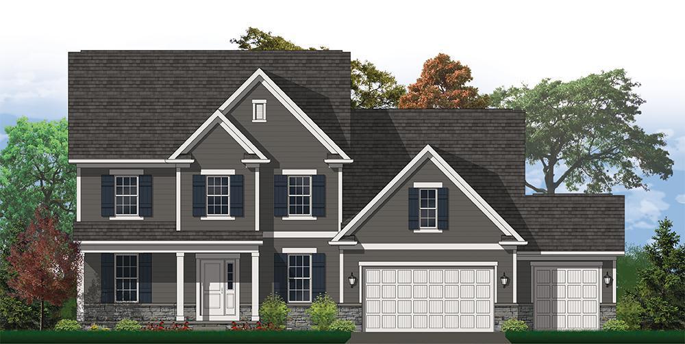 单亲家庭 为 销售 在 The Kensington 7590 Haverington Street Pickerington, Ohio 43147 United States