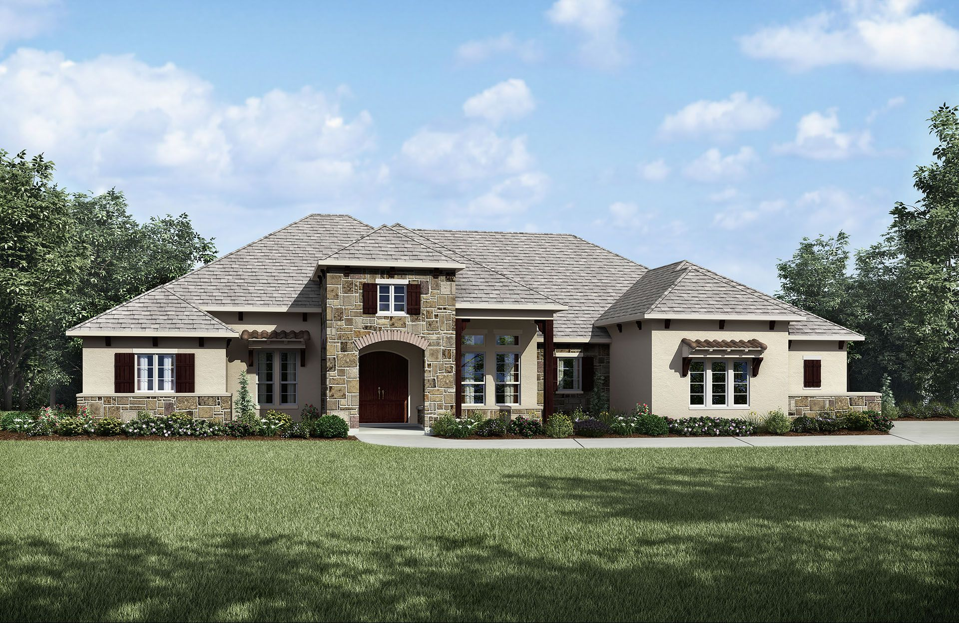 Cap rock estates crystal falls new homes in leander tx by for Crystal falls builders