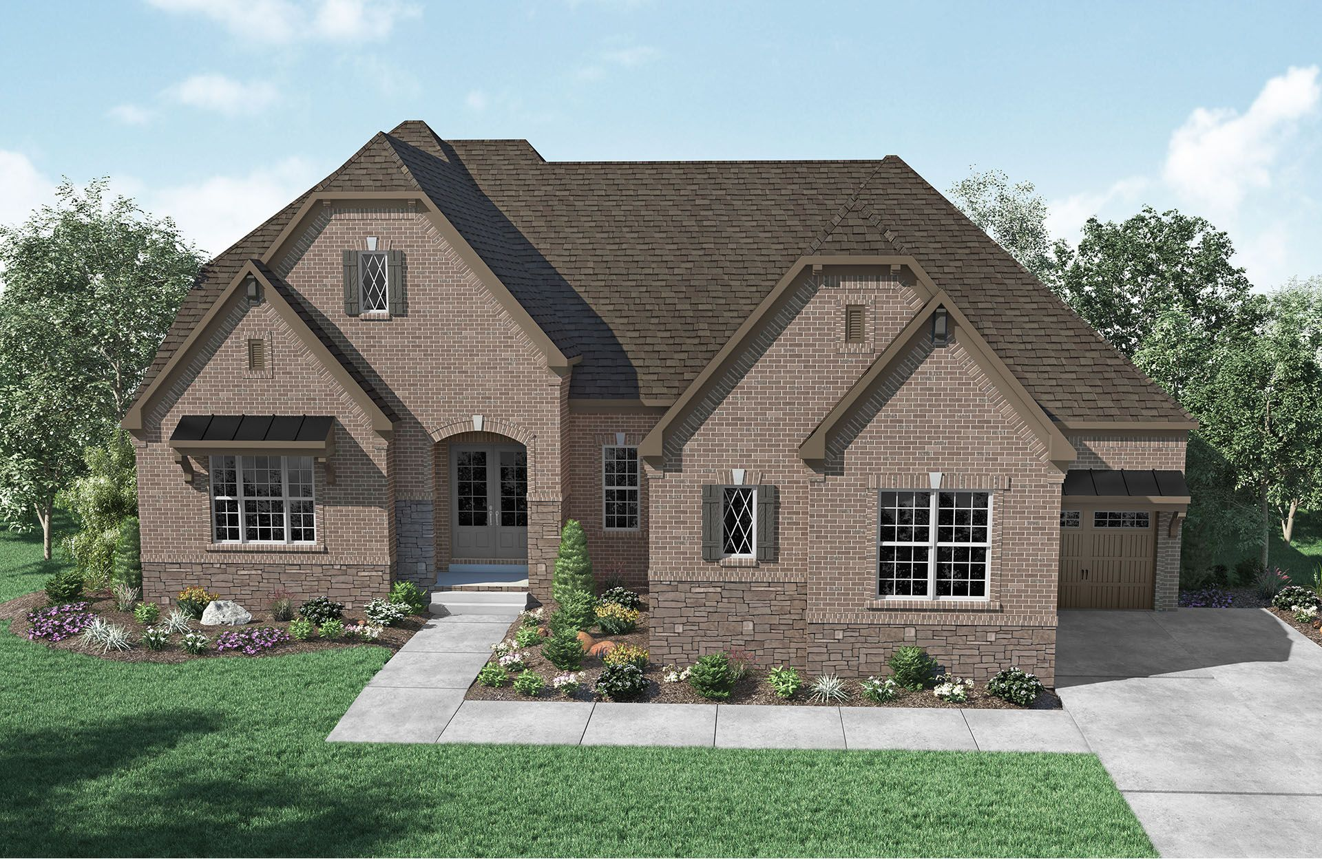 Single Family for Active at Kings' Chapel - Camden 4544 Majestic Meadow Drive Arrington, Tennessee 37014 United States