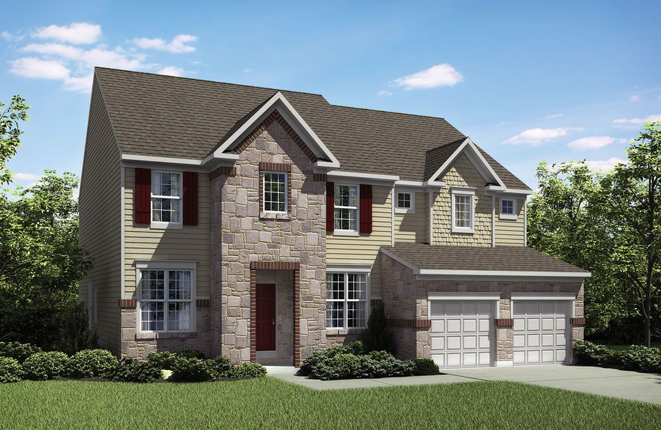 Single Family for Active at Tallyn Ridge - Cartwright 8395 Pine Bluff Road Frederick, Maryland 21704 United States