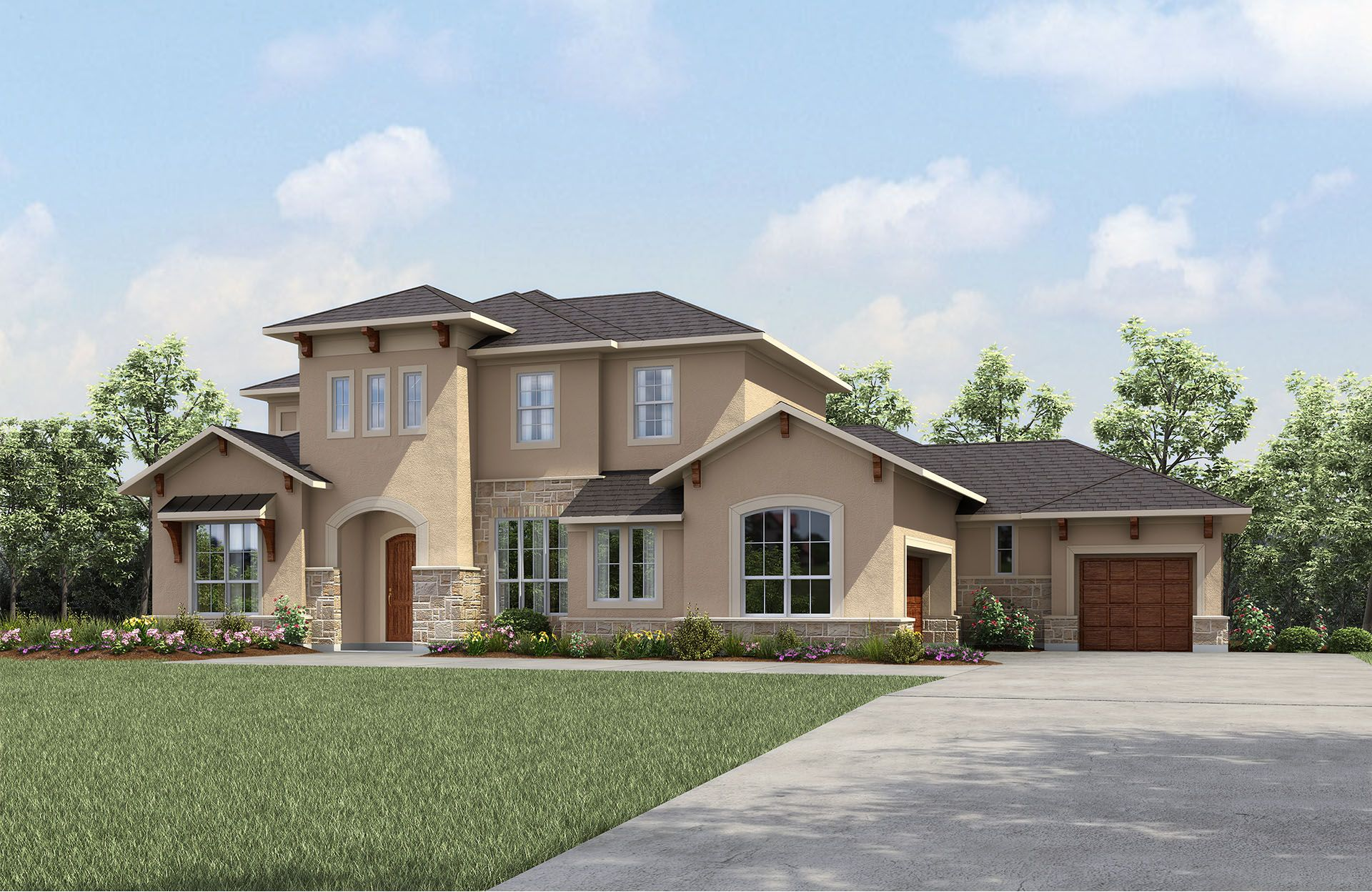 Single Family for Active at Colinas Ii 410 Umbrella Sky Liberty Hill, Texas 78642 United States