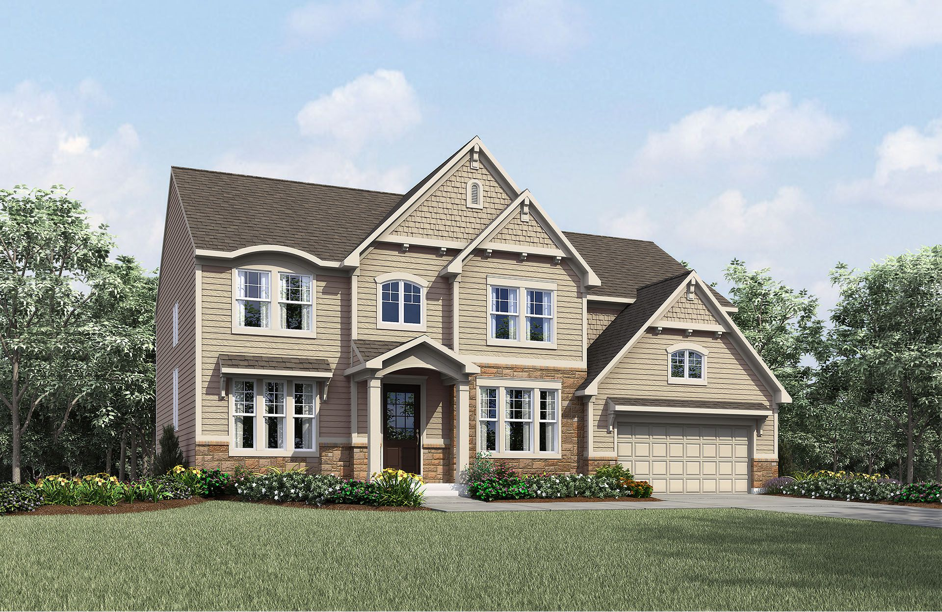 Single Family for Active at Estates At Rocky Pen - Ash Lawn 85 Edgewater Drive Falmouth, Virginia 22405 United States