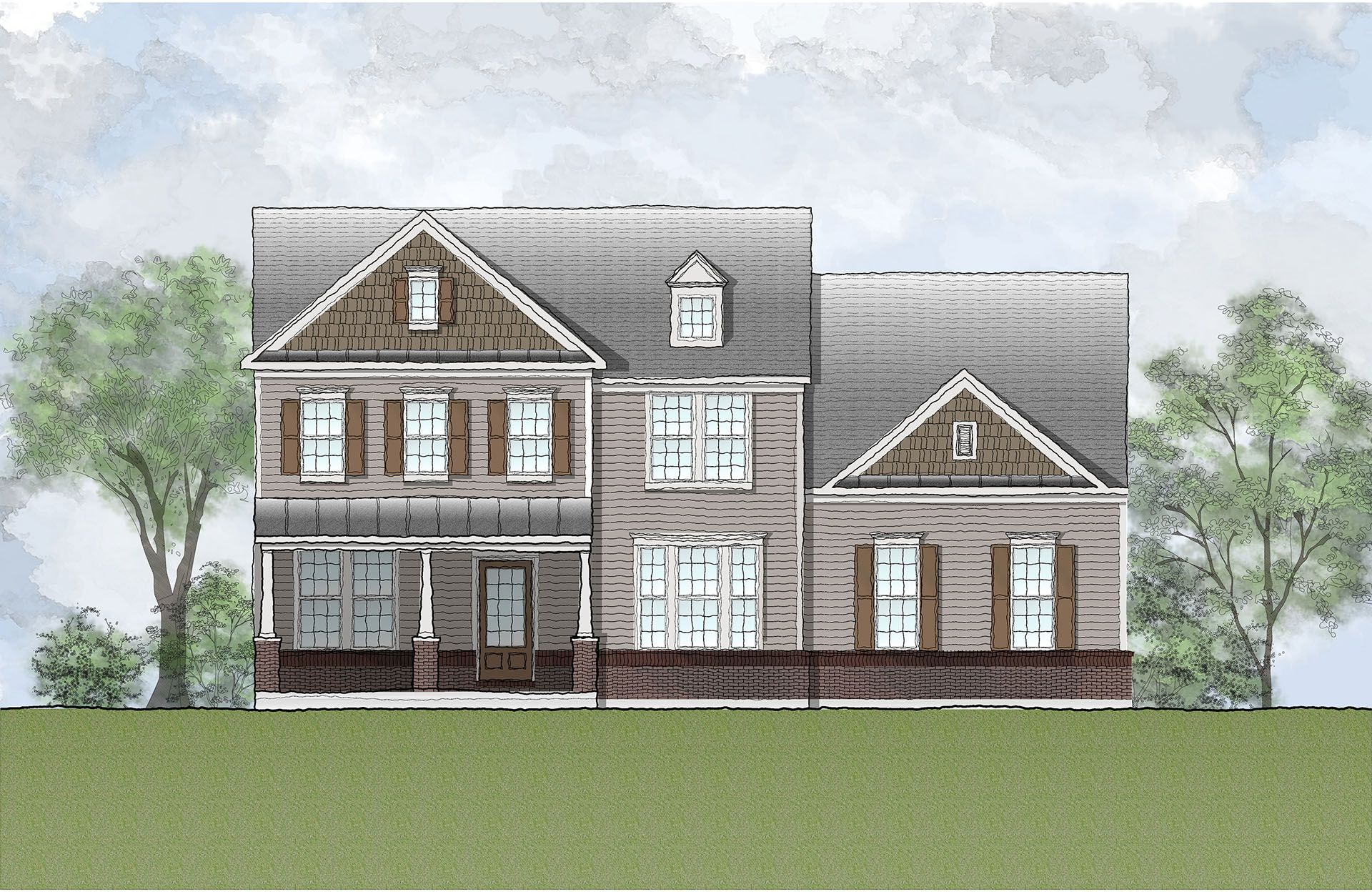 Single Family for Active at Estates At Rocky Pen - Monticello 85 Edgewater Drive Falmouth, Virginia 22405 United States