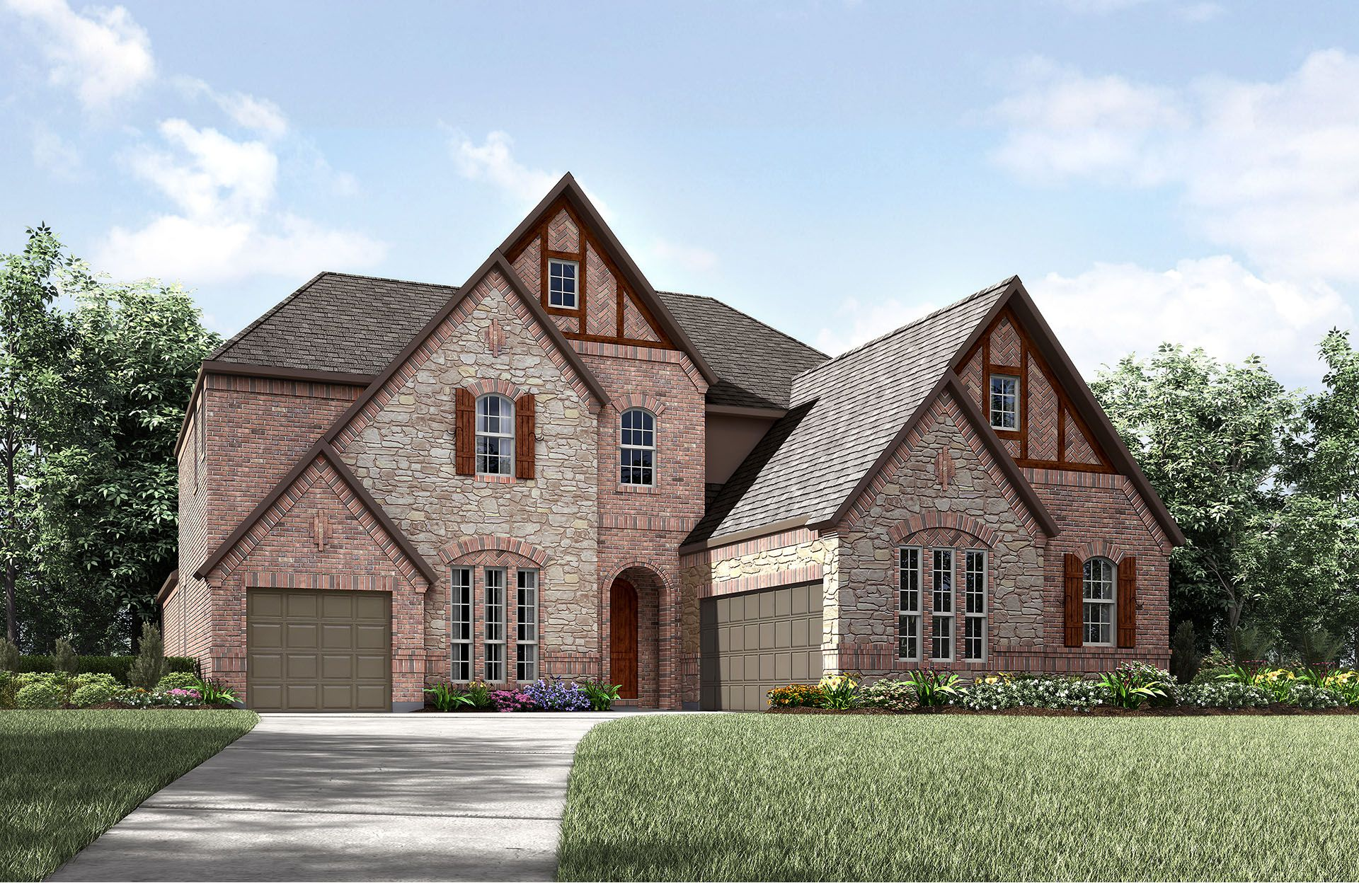 Single Family for Sale at Bracken Iii 989 Lazy Brooke Drive Rockwall, Texas 75087 United States