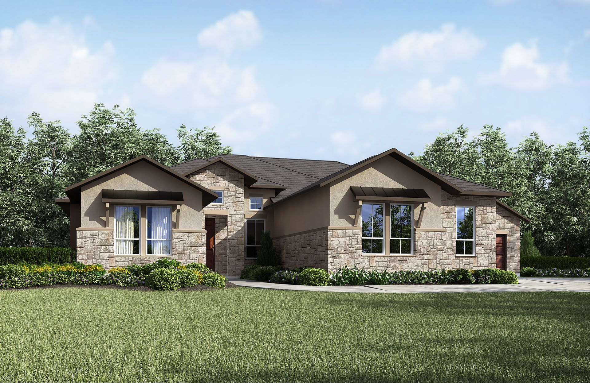 Single Family for Sale at Cimarron Hills - Chandler Iii 307 Flint Ridge Trail Georgetown, Texas 78628 United States