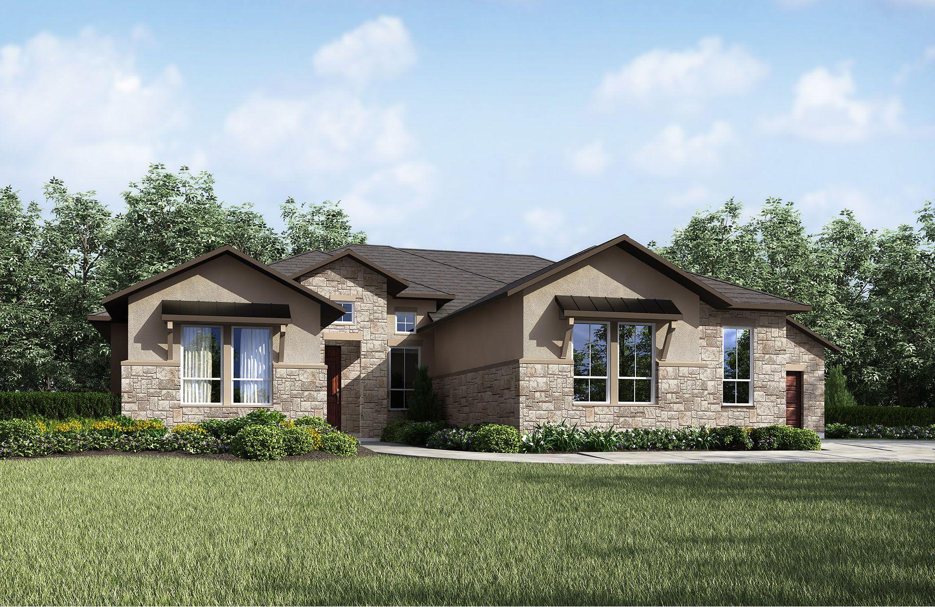 Single Family for Sale at Cimarron Hills - Chandler Iii 307 Flint Ridge Trail Georgetown, Texas 78628 United States