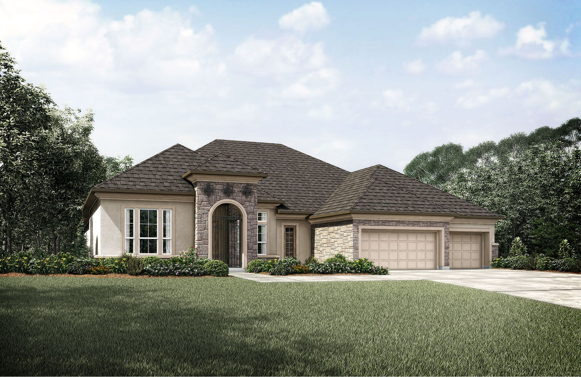Single Family for Active at Woodtrace - Lauren Iv 33823 Mill Creek Way Pinehurst, Texas 77362 United States