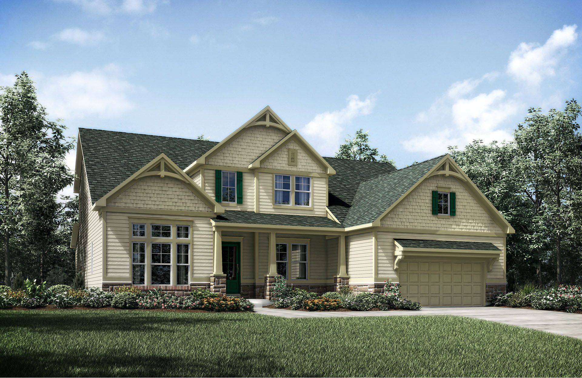 Single Family for Active at Virginia Crossing - Peacefield 7001 Saint Hill Court Haymarket, Virginia 20169 United States