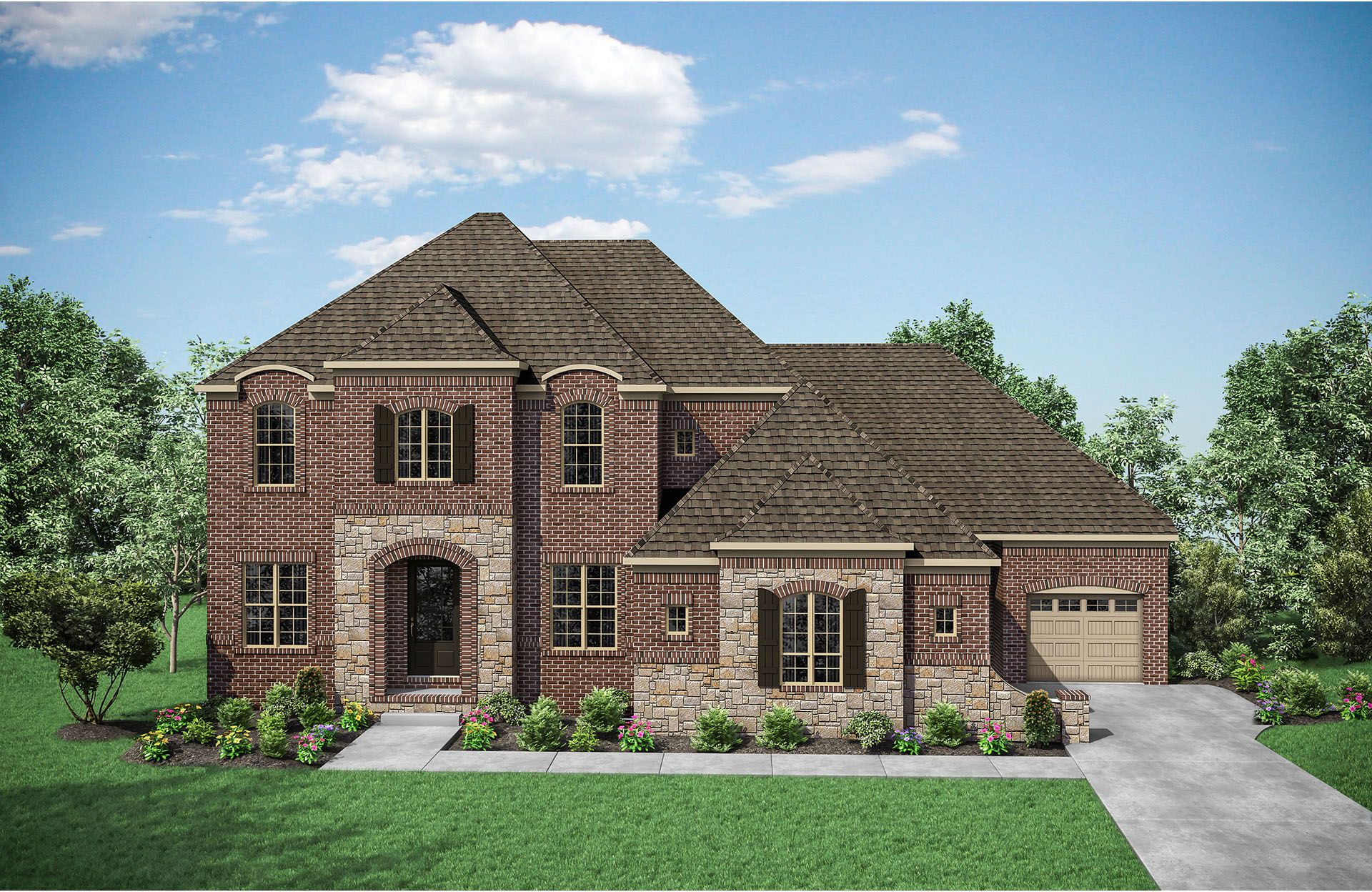 Single Family for Active at Kings' Chapel - Belterra 4544 Majestic Meadow Drive Arrington, Tennessee 37014 United States