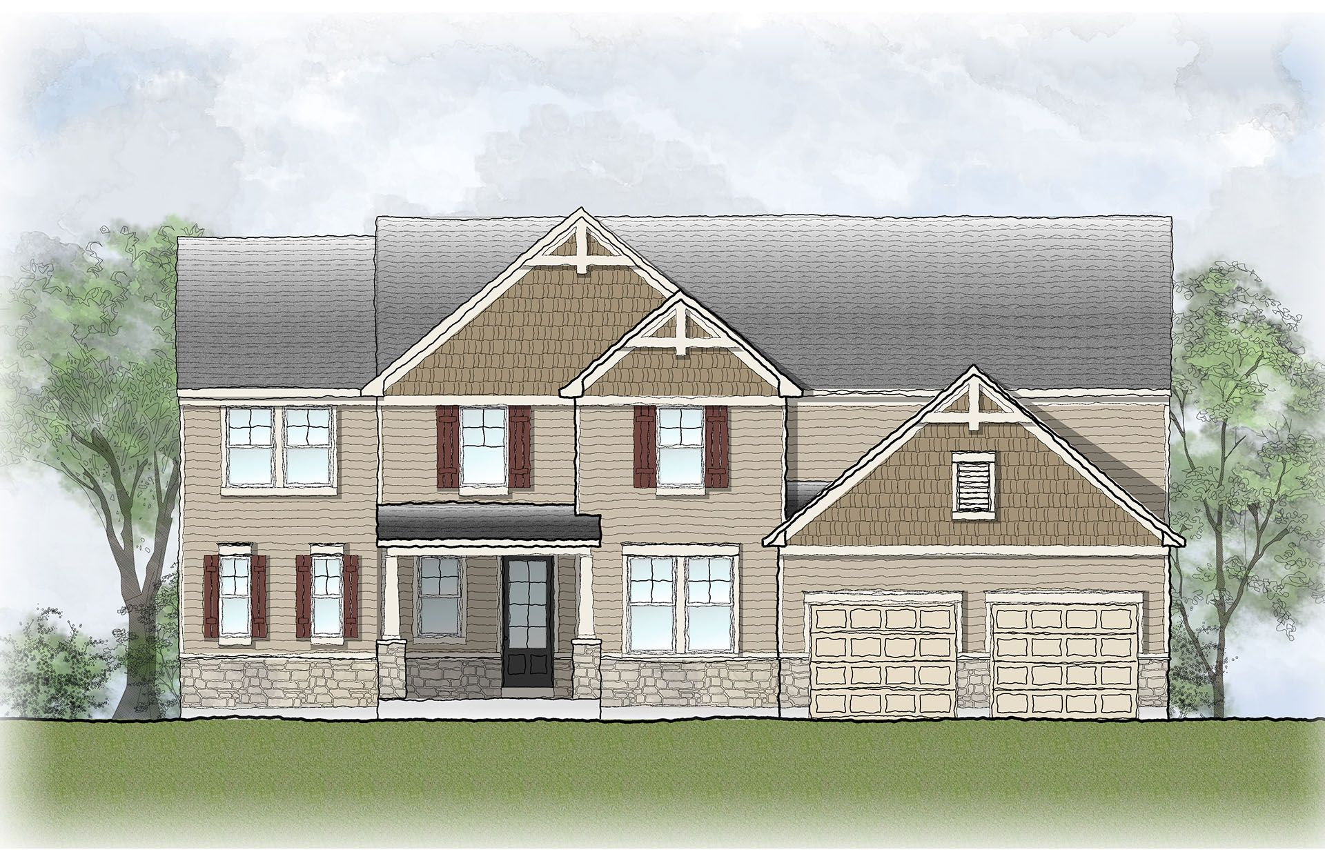 Single Family for Sale at Estates At Rocky Pen - Hermitage 85 Edgewater Drive Falmouth, Virginia 22405 United States