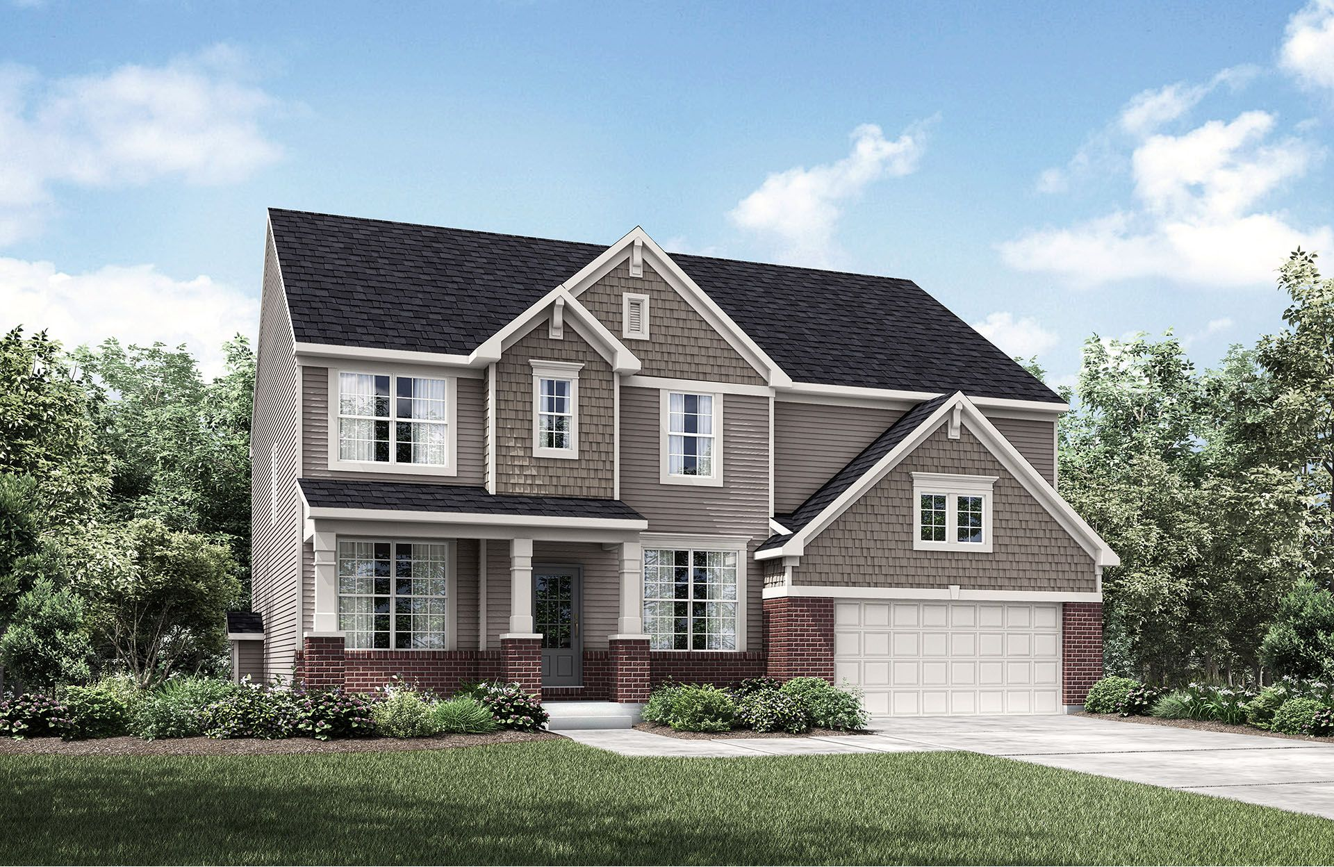 Single Family for Sale at Belmont Place At Brooks Park - Buchanan 14909 Edgebrook Drive Fishers, Indiana 46040 United States