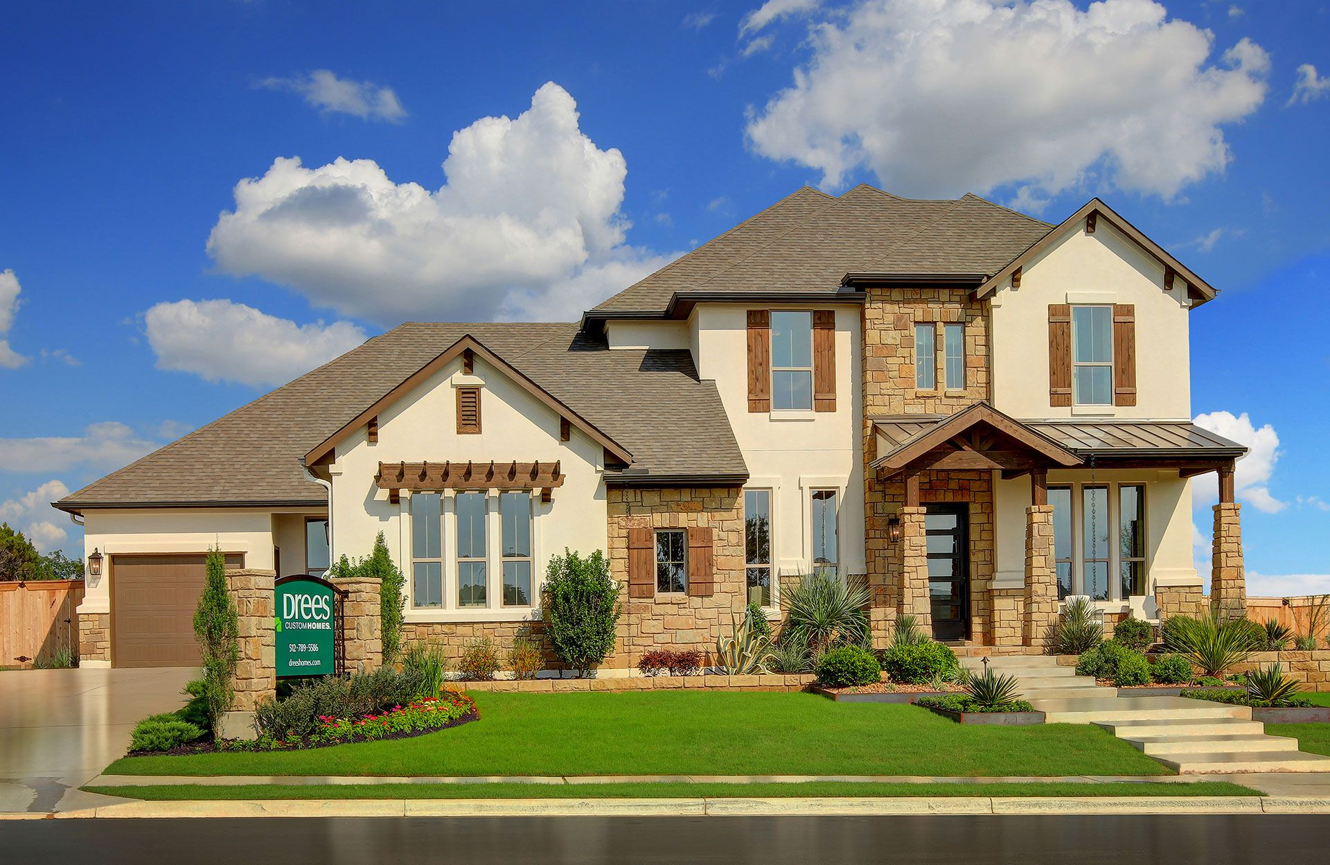 Belterra new homes in austin tx by drees custom homes for New modern homes in austin tx