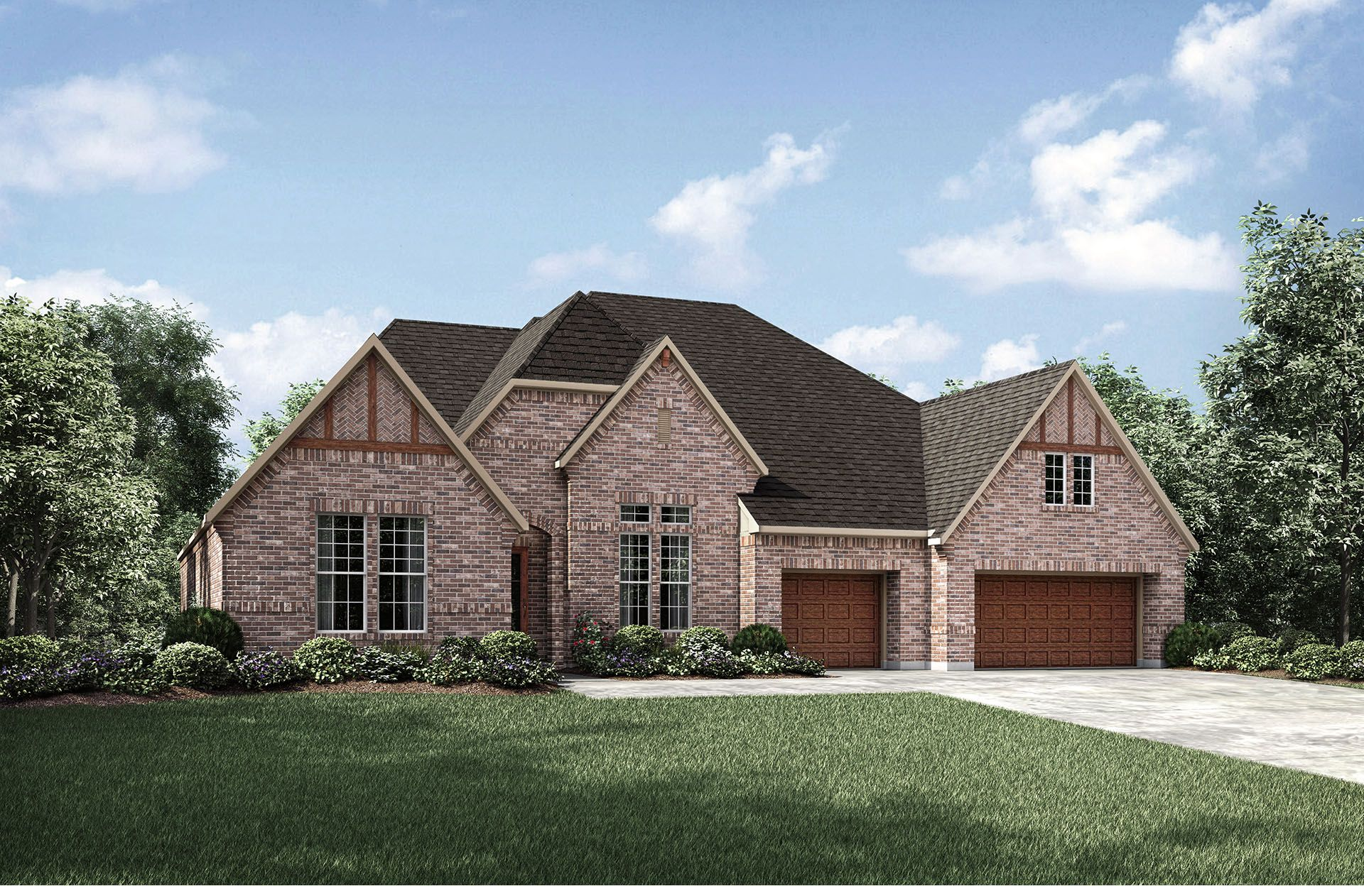 Single Family for Active at Castella 10577 Lake Palmetto Drive Conroe, Texas 77385 United States