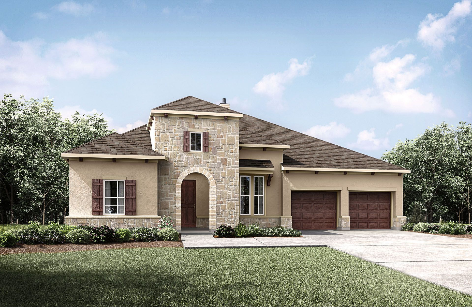Single Family for Sale at Tinsley 339 Round Lake Drive Rosenberg, Texas 77469 United States