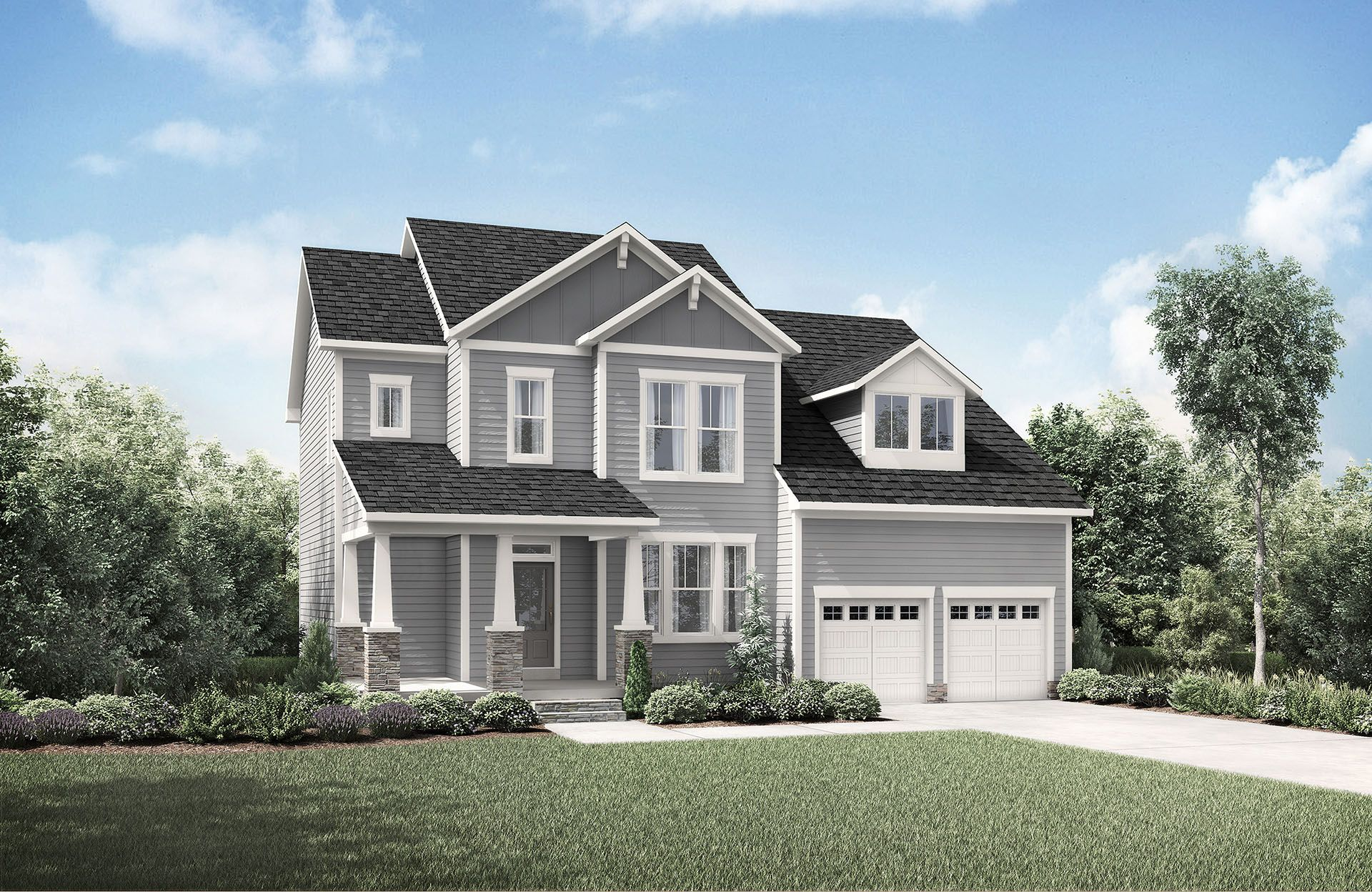 Single Family for Sale at Corbin Creek Woods - Hayes 814 Morelanda Drive Hillsborough, North Carolina 27278 United States