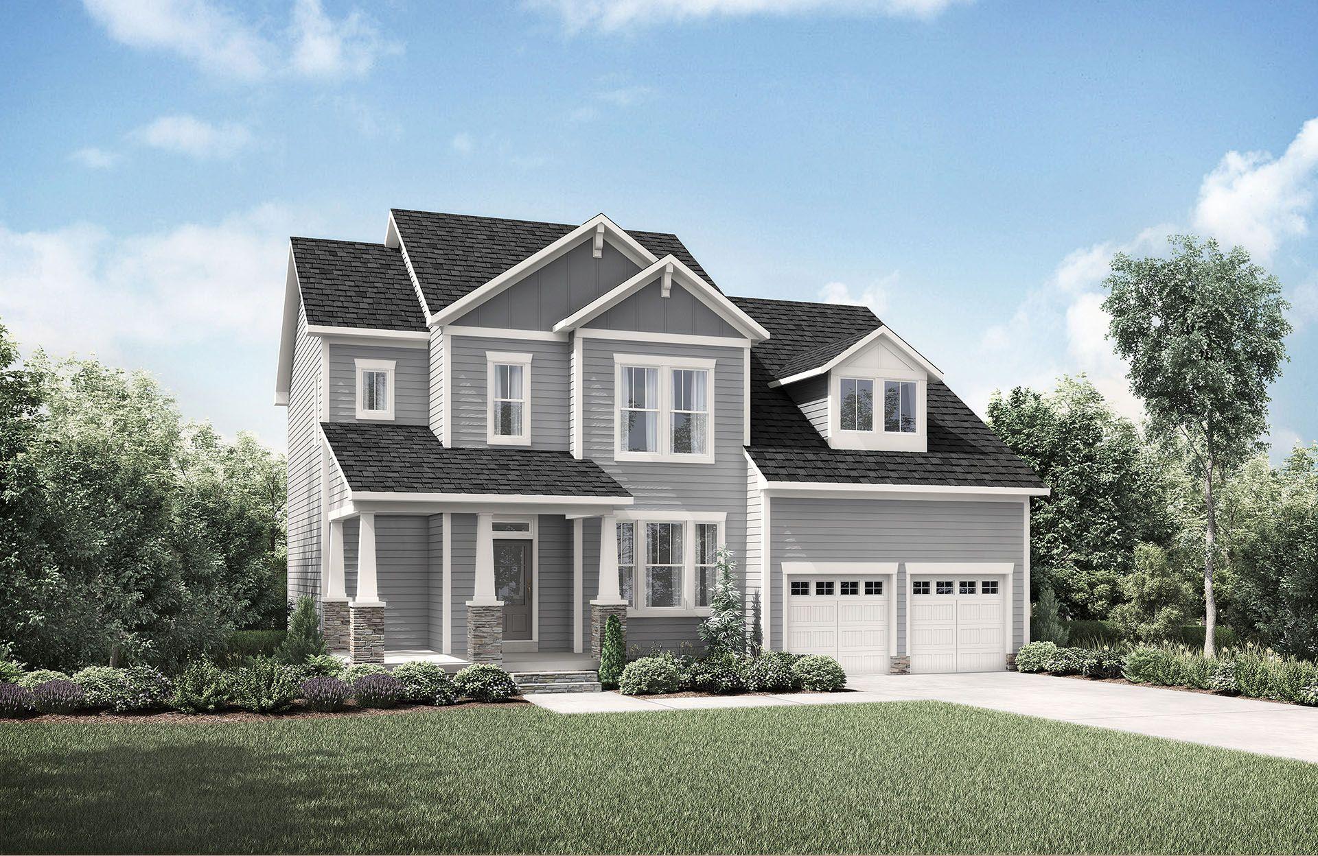 Single Family for Sale at Corbin Creek Woods - Hayes 814 Morelanda Drive Hillsborough, North Carolina 27278 United States